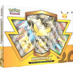 Pokemon 20th Anniversary ,,Rote & Blaue Kollektion Box Pikachu-EX,, (Deutsche Version) Sammelkarten