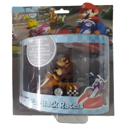 Mario Kart Wii ,,Mini Kart mit Rückziehfunktion Donkey Kong,, (12 cm) Pull & Speed