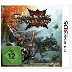 3 DS ,,Monster Hunter Generations,,