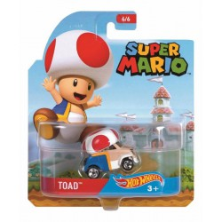 Hot Wheels ,,Toad,, Super Mario (USA Import)