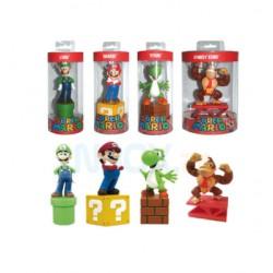 Super Mario Briefbeschwerer ,,4er Set,, (15cm)
