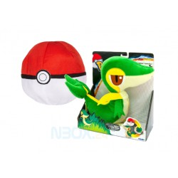 Pokemon ,,2-in-1 Plüschfigur Serpifeu,, (30 cm)
