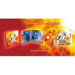 3 DS ,,Pokemon Sonne,, (Steelbook Edition)
