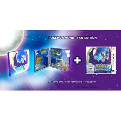 3 DS ,,Pokemon Mond,, (Steelbook Edition)
