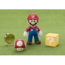 Super Mario Bros. ,,S.H. Figuarts Actionfigur Mario,, (10 cm)