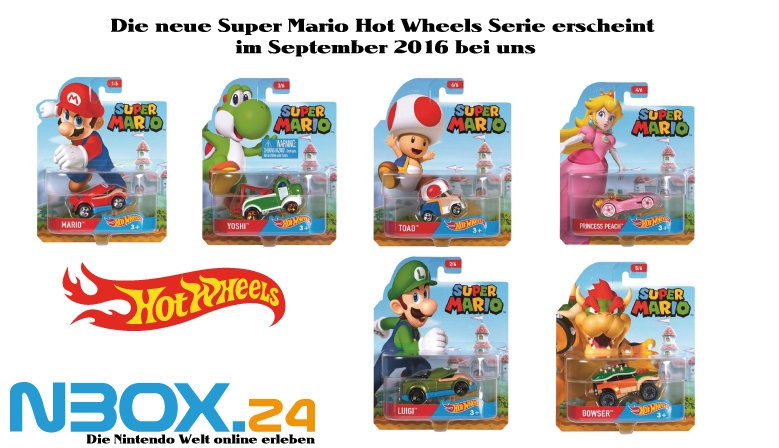 Hot Wheels Super Mario Serie 2