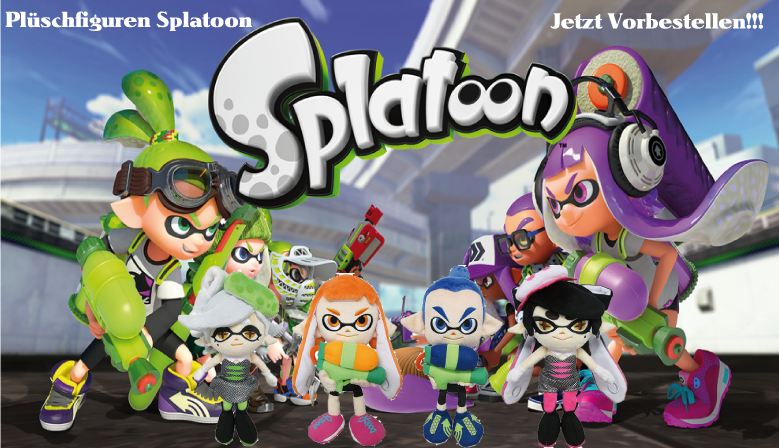 Splatoon Plüschfiguren