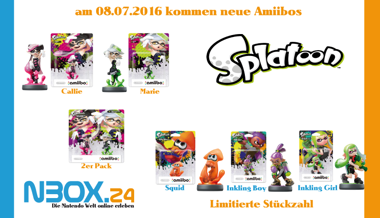 Splatoon 2 Serie