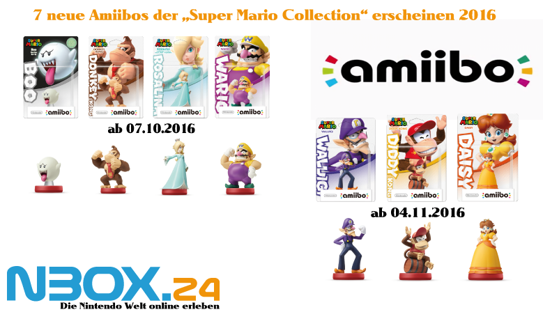 Amiibo Super Mario Welle 2