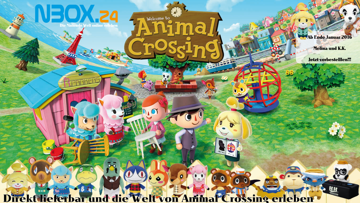 Animal Crossing Plüschtiere