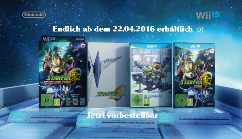 Star Fox Zero - First Print