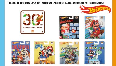 Hot Wheels 30 th Super Mario Collection